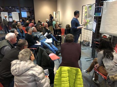 Grand Débat à Voreppe 25 février 2019 : travail en ateliers