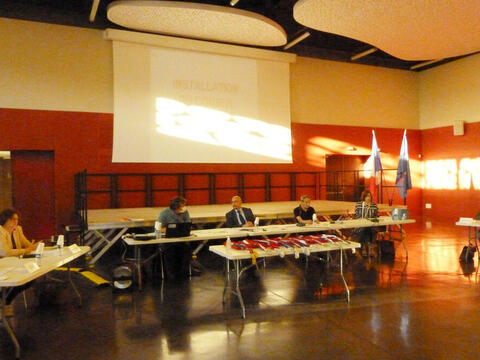 Conseil municipal du 26 mai à l'Arrosoir