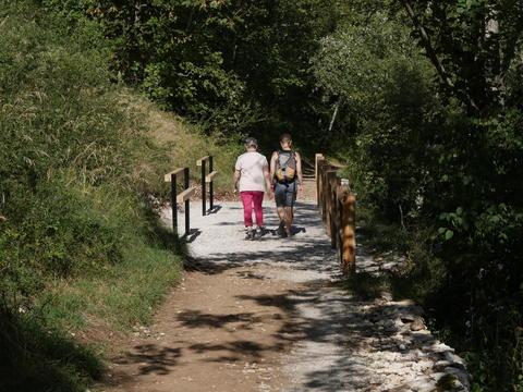 Sentier de Bellevue à Voreppe