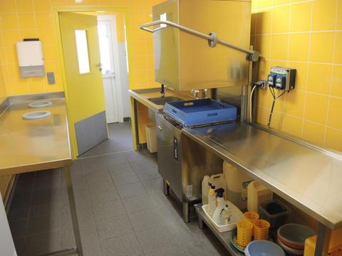 """Crèche de Voreppe, l'espace """"vaisselle"""""""