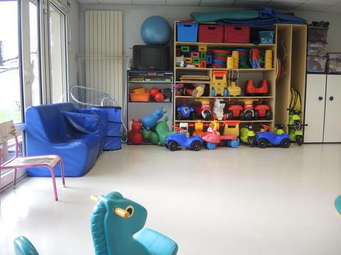Crèche de Voreppe, salle de psychomotricité pour un développement harmonieux de l'enfant