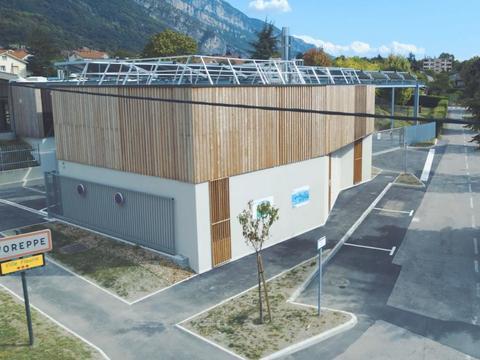 Chaufferie bois et solaire thermique
