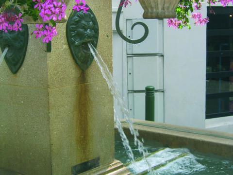 Fontaine, Grande rue