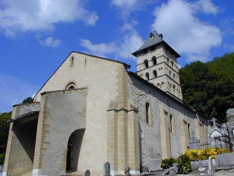 Eglise romane Saint-Didier, centre bourg