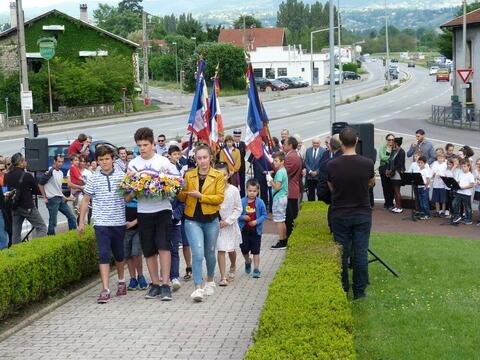 Le CMEJ participe aux cérémonies commémoratives et de mémoire